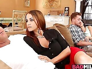 Miss Raquels husband fell She decided to bother the teens for a little!