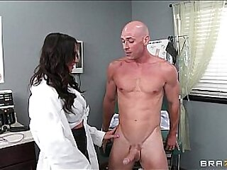 Female doctor get fucked when she saw the cock