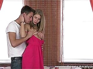 Teens Analyzed - Gorgeous longhaired teen model