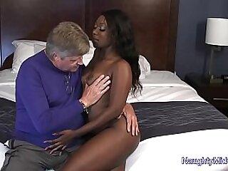Skyler Nicole - Ebony Cutie Fucks Not  Her Stepdad