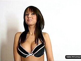 In our Casting Angel Kiss Masturbates on Camera for First Time