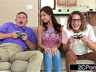 Jerk That Joy Stick - Jade Jantzen Loves Video Games and Men's Joysticks