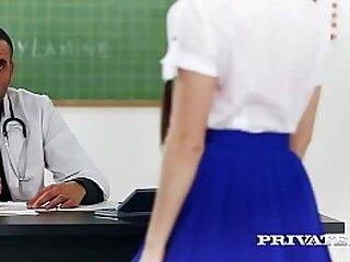 Private.com - Trainee Nurse Cassie Fire Rides Her Teacher