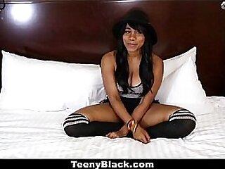 Teeny Black - Curvy Teen (Jenna Foxx) First Casting