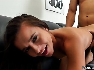 Tiny Teen tries out for Porn