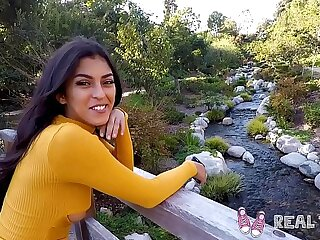 Real Teens - Amatuer latina teen Sophia Leone POV sex