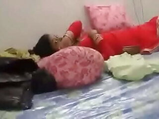 Indian teen couple engaged in sucking boobs and licking juicy  pussy by fucking smoothly