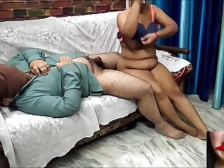 Indian hot couple doing hard sex
