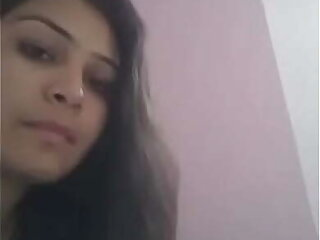 Desi Girl Showing Her assets to Boyfriend on Camera